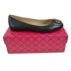 Tory Burch Claire Reva Leather Ballet